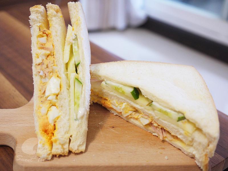 營養滿分三明治 - 早餐簡單做