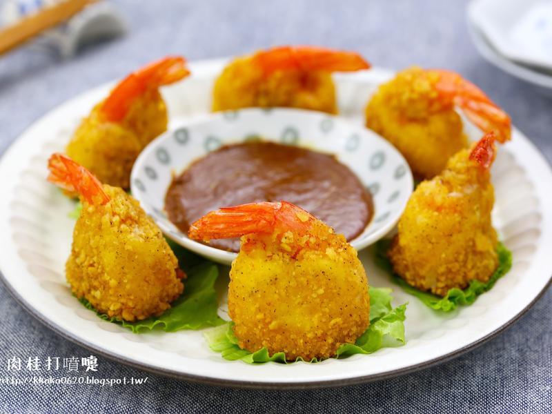 金黃脆皮芝心蝦球【樂事盒裝洋芋片】