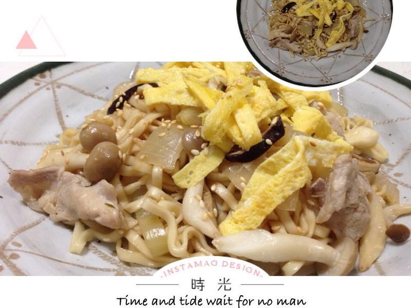 五木炒拉麵