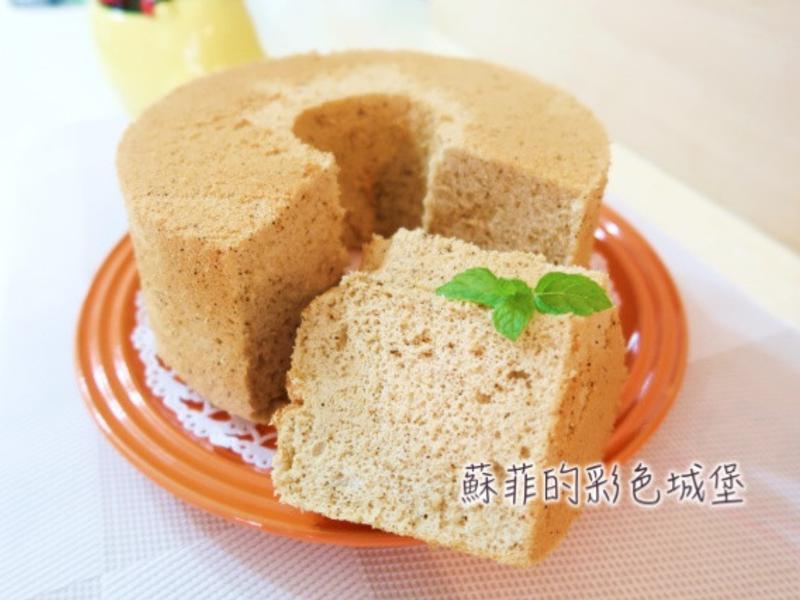 香氣四溢紅玉奶茶戚風蛋糕【無泡打粉配方】