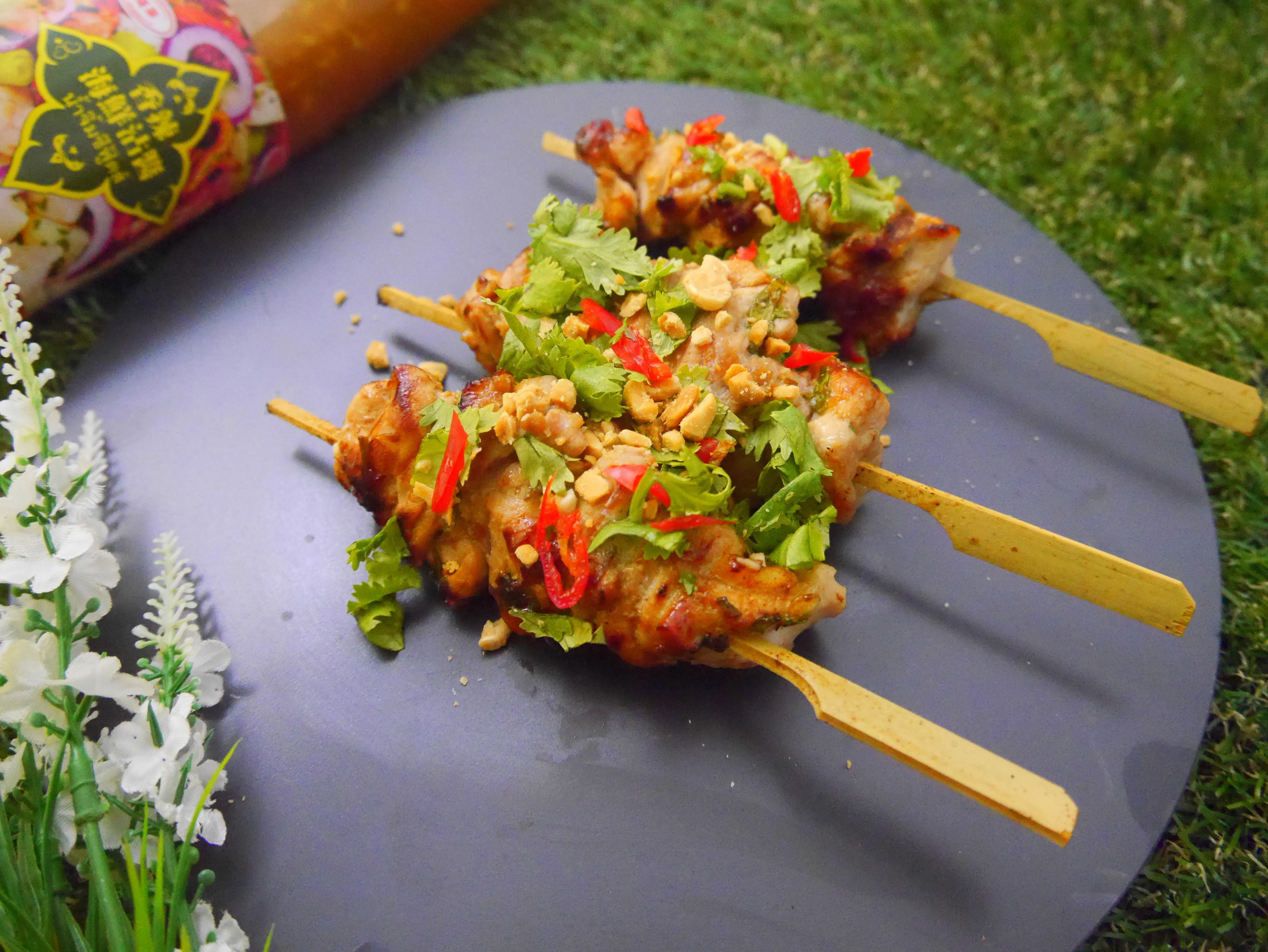 泰式醬X泰泰風雞肉串燒