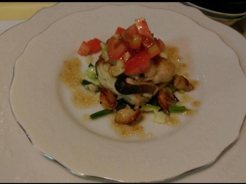 蒜香墰菇洋蔥煎馬鮫魚-健康廚房