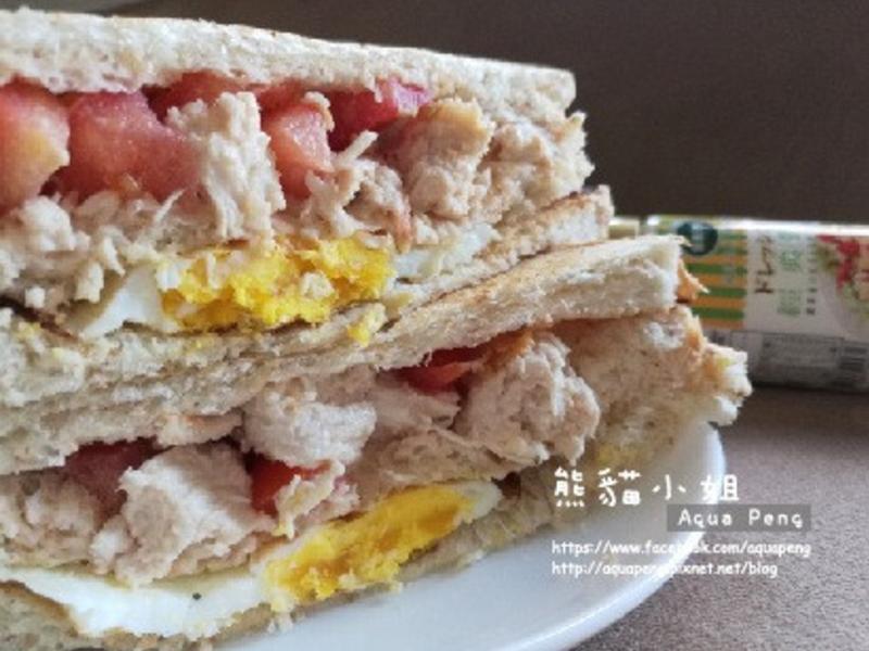 凱薩雞肉沙拉三明治【健康廚房】