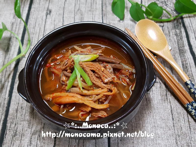 韓式牛肉湯육개장