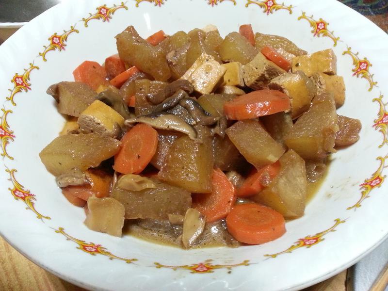 醬燒滷冬瓜~~~^-^(素食)