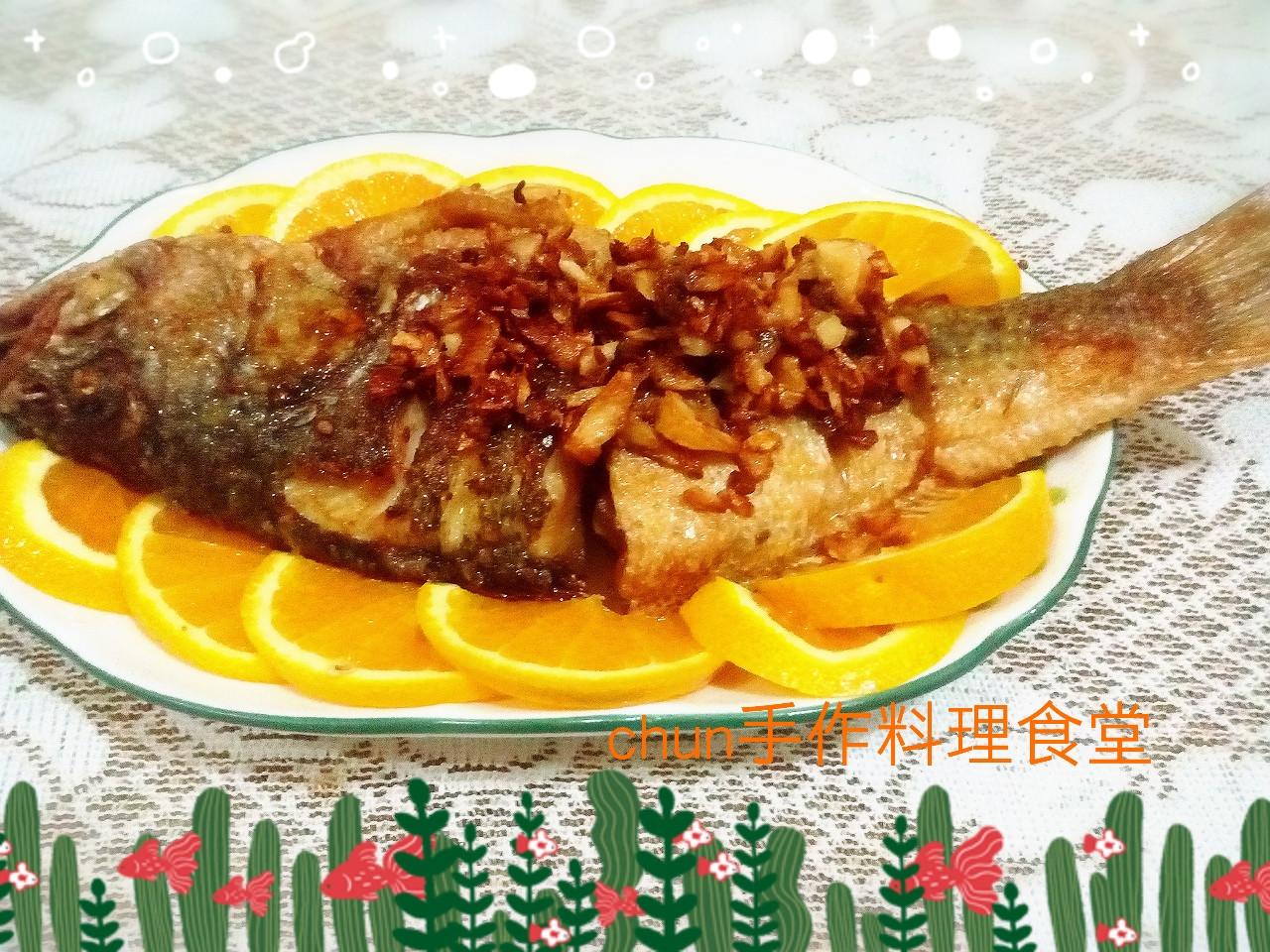 蒜酥魚-38度金門高梁酒