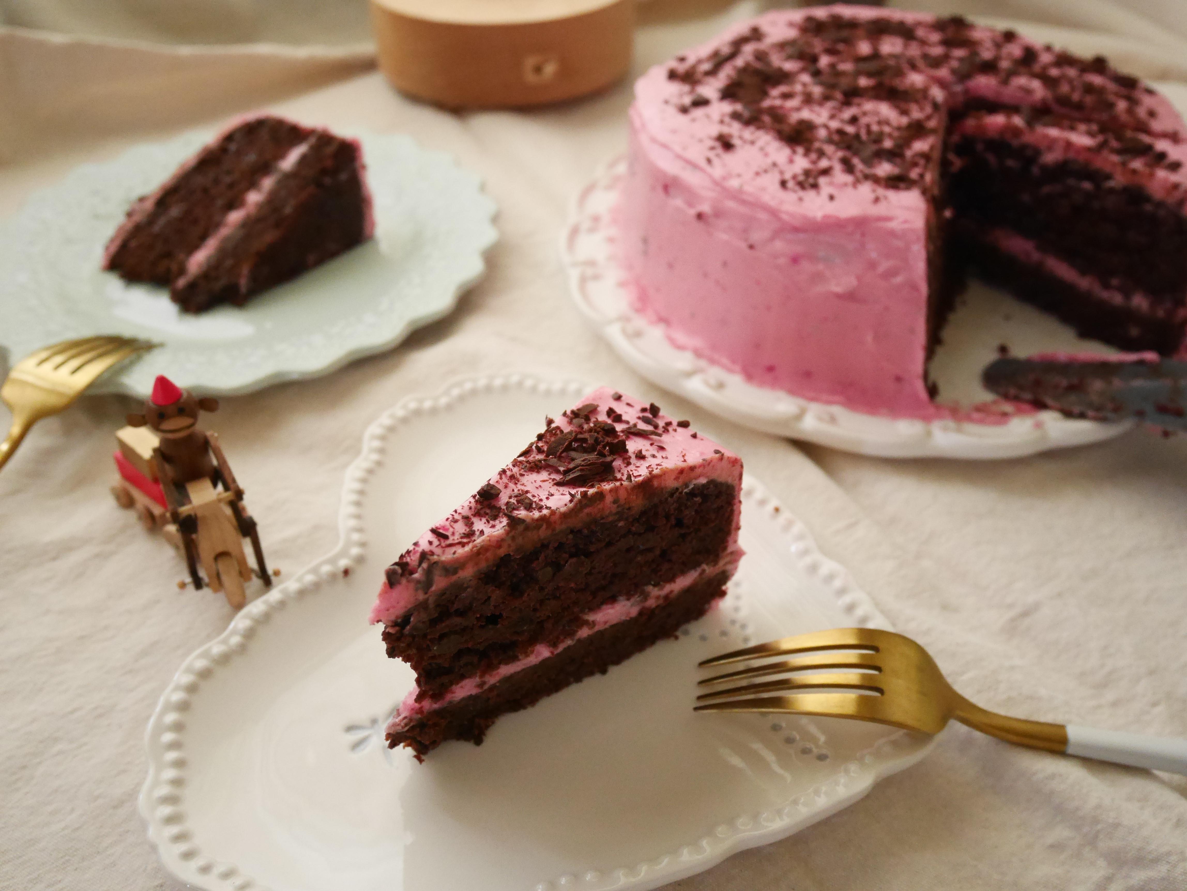 甜菜根巧克力蛋糕