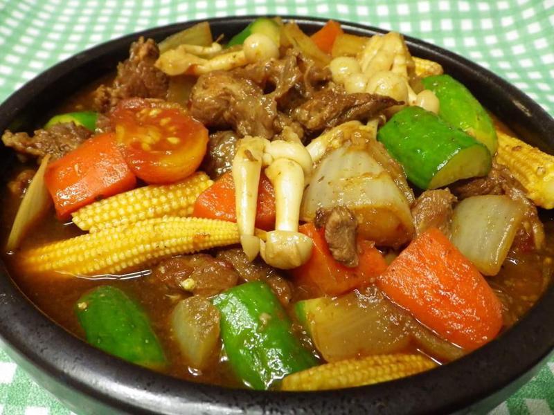 紅燒筋肉蔬食鍋