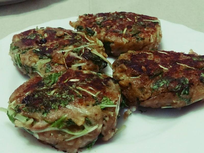 鮪魚燕麥漢堡排