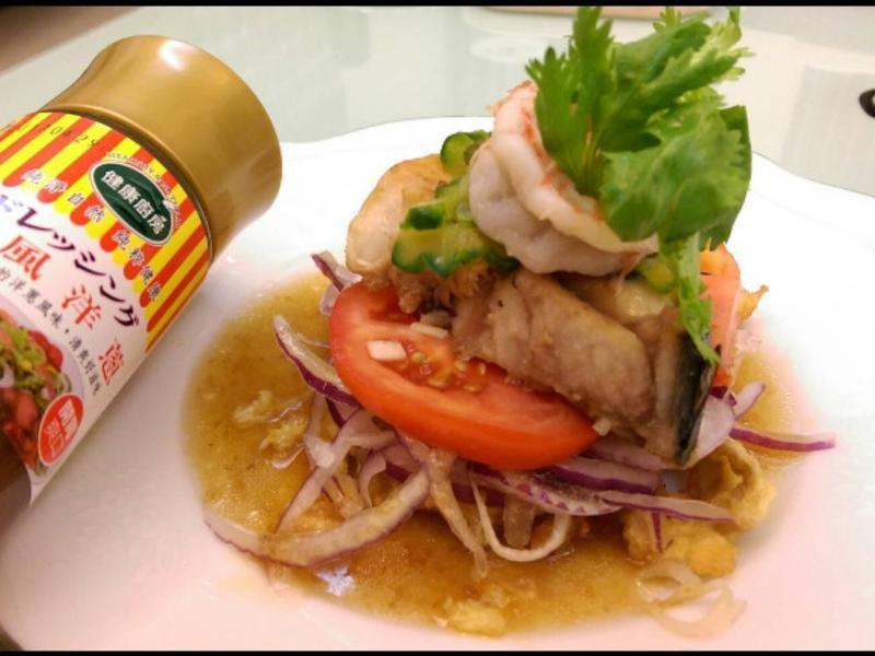 Q蝦魚誹佐洋蔥醬-健康廚房