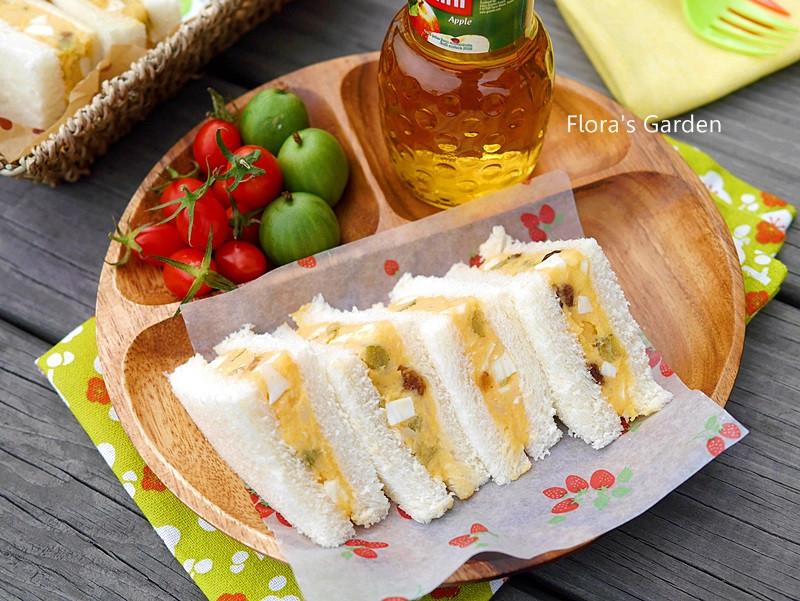 蛋沙拉三明治✿早餐、郊遊必備