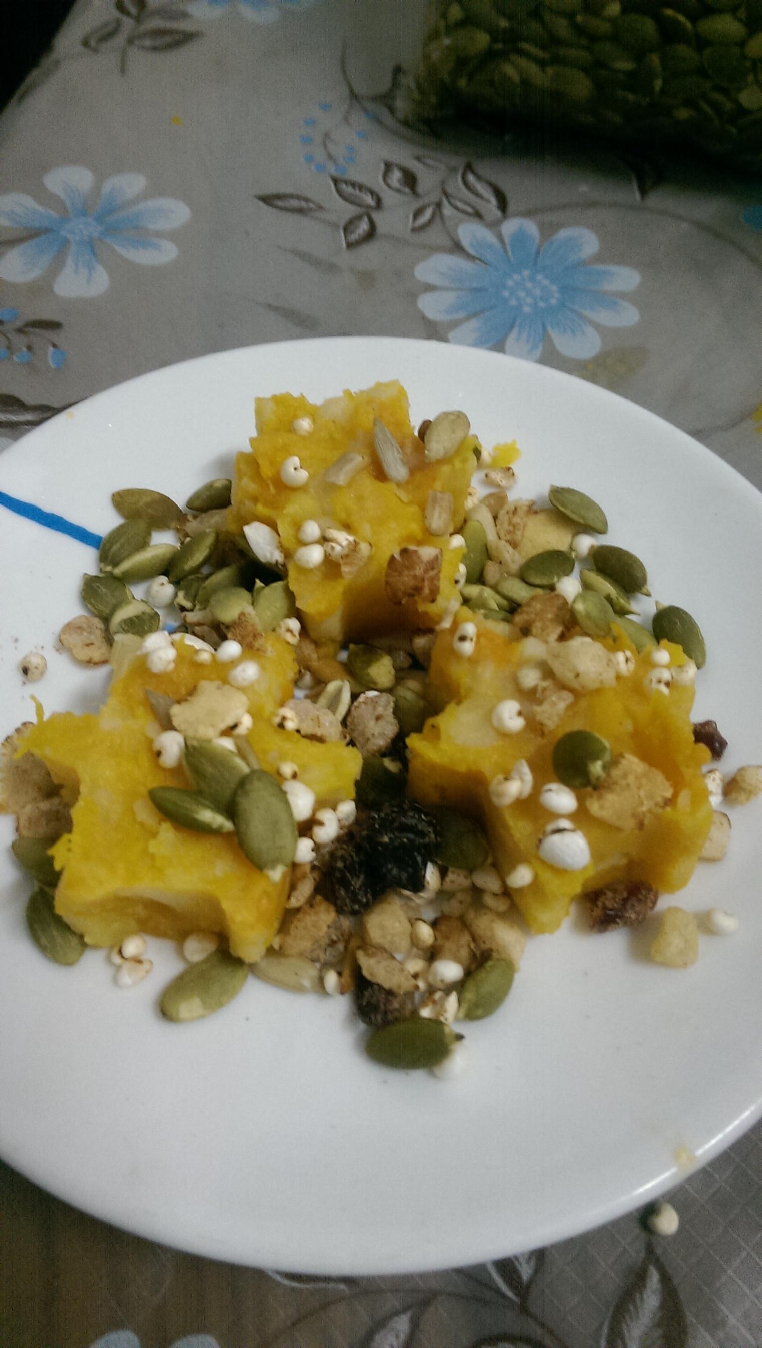 低卡菜單-南瓜馬鈴薯沙拉