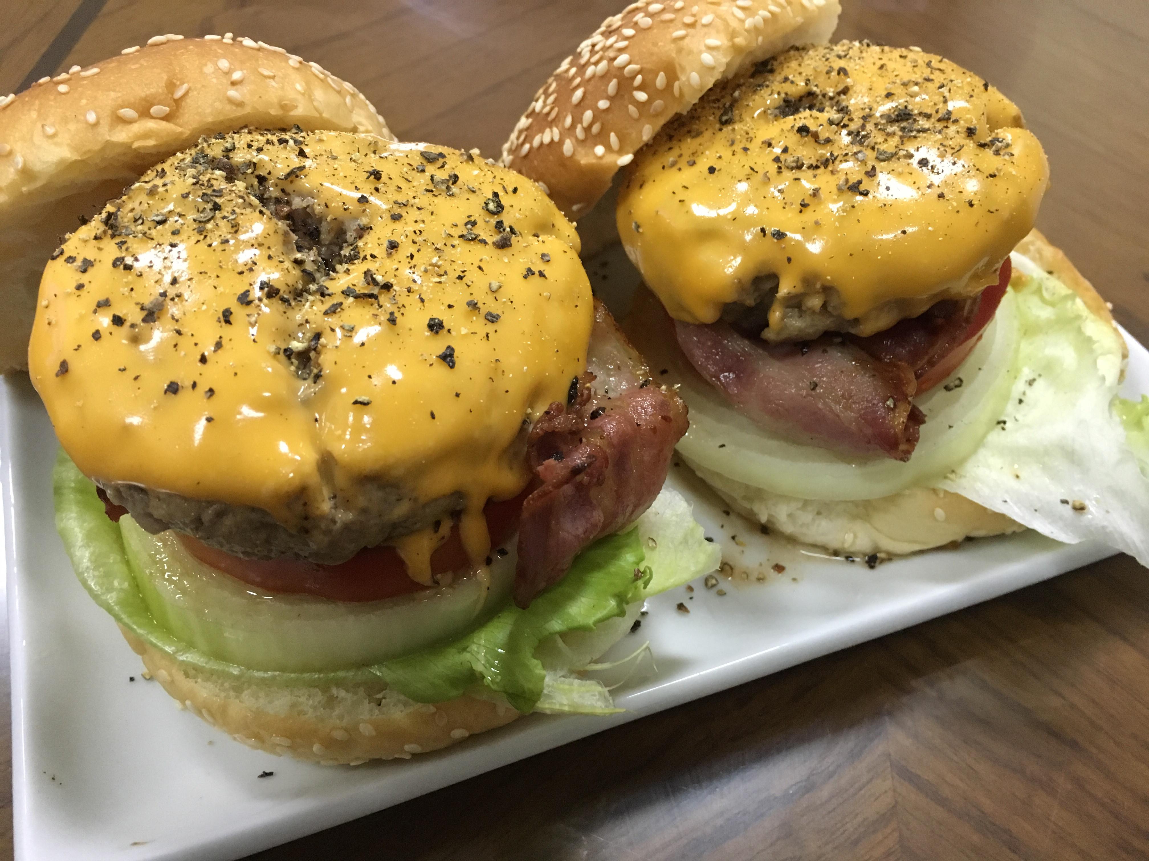 美式漢堡包
