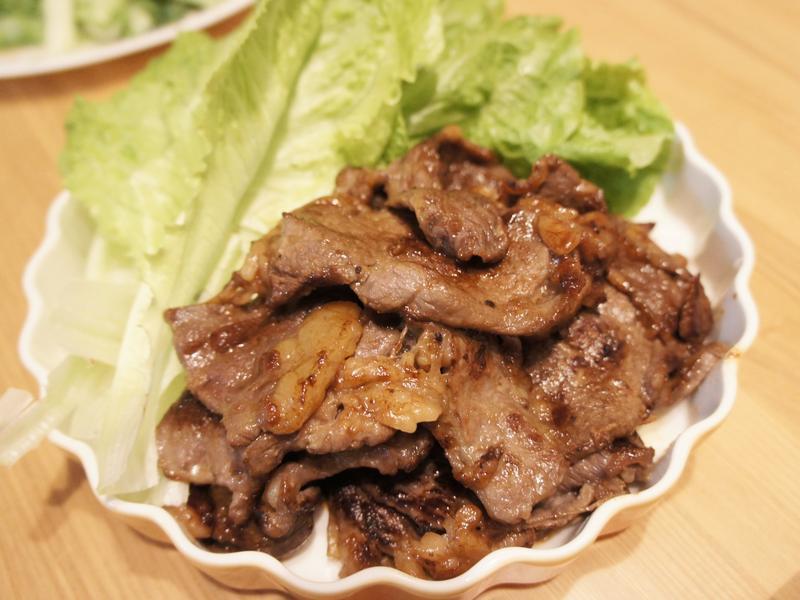 韓式燒烤牛小排