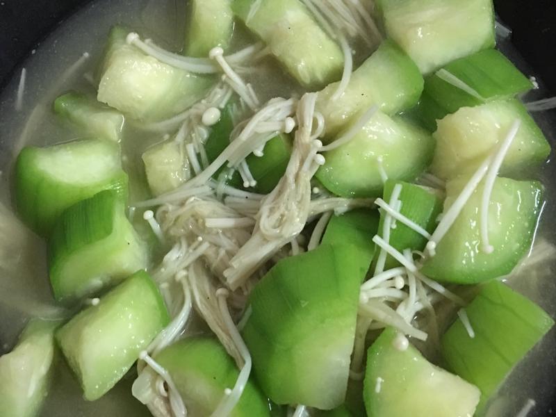 絲瓜湯~素食