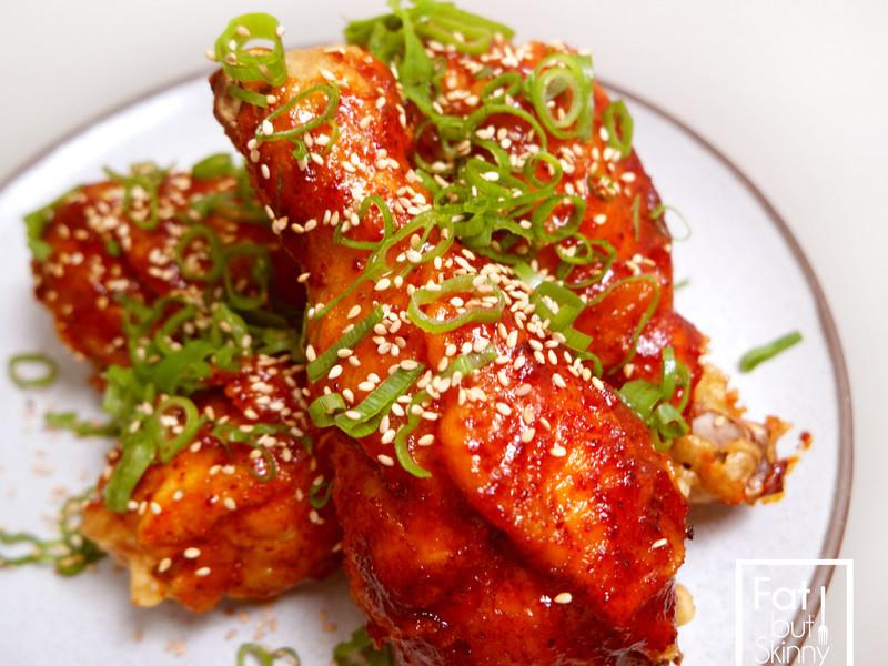 ▶︎簡單在家做◀︎—韓式炸雞!蜂蜜辣味!
