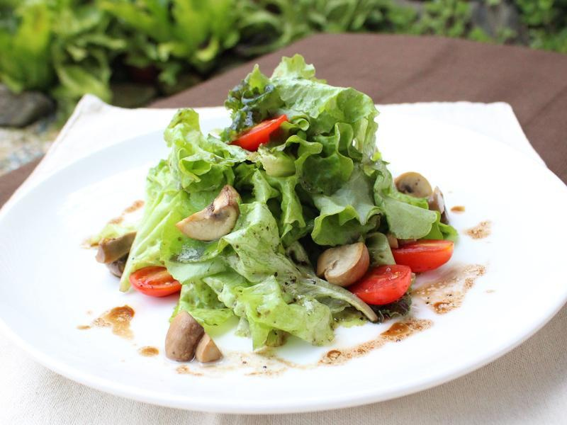 【小磨坊】季節食蔬磨菇溫沙拉