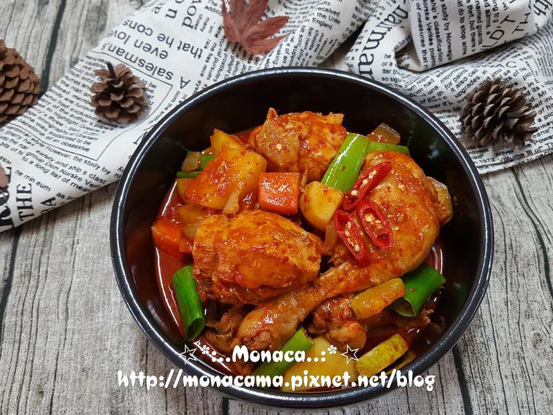 韓式辣燉雞닭볶음탕/닭도리탕