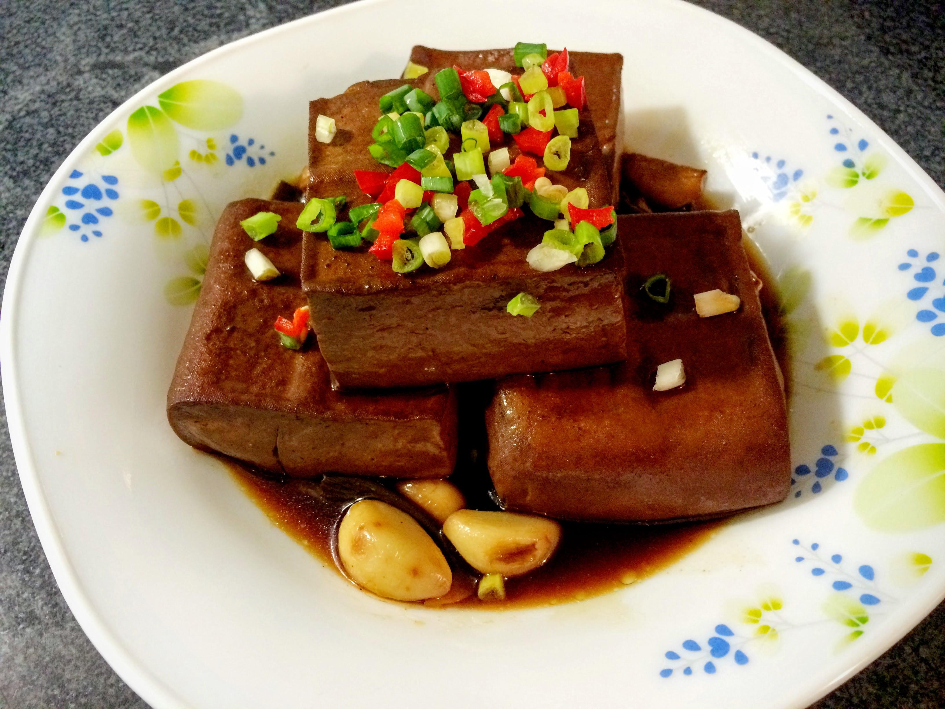 灶咖の焦糖滷豆腐