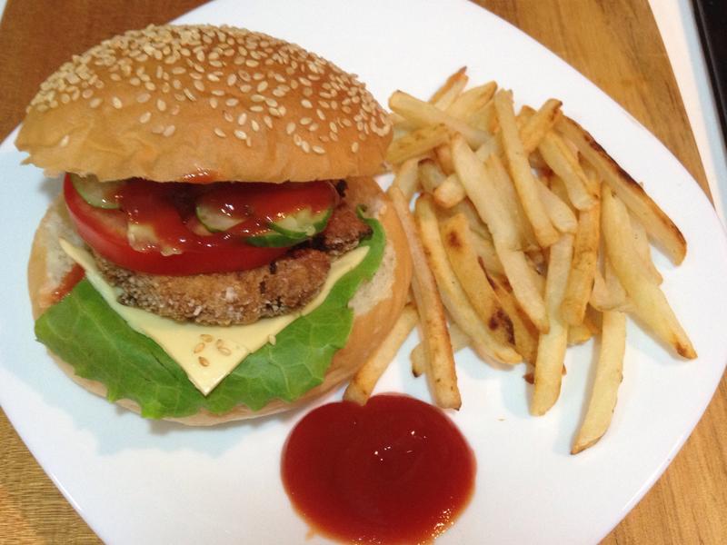 蔬食漢堡排