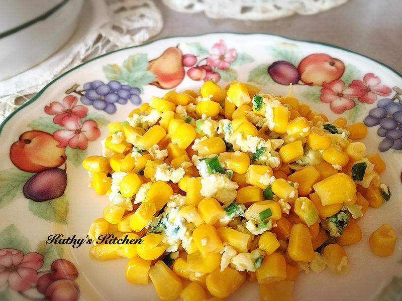 玉米蔥花蛋🎶