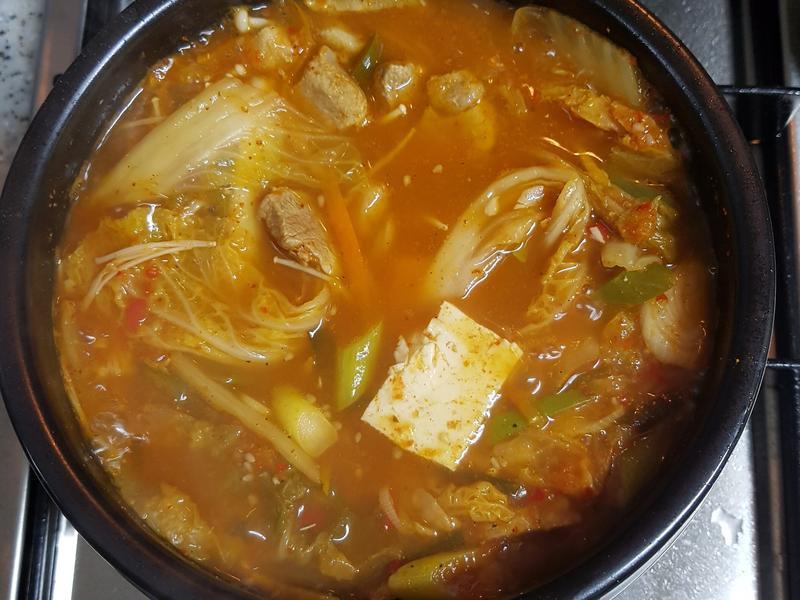 (韓式)泡菜鍋 김치찌개