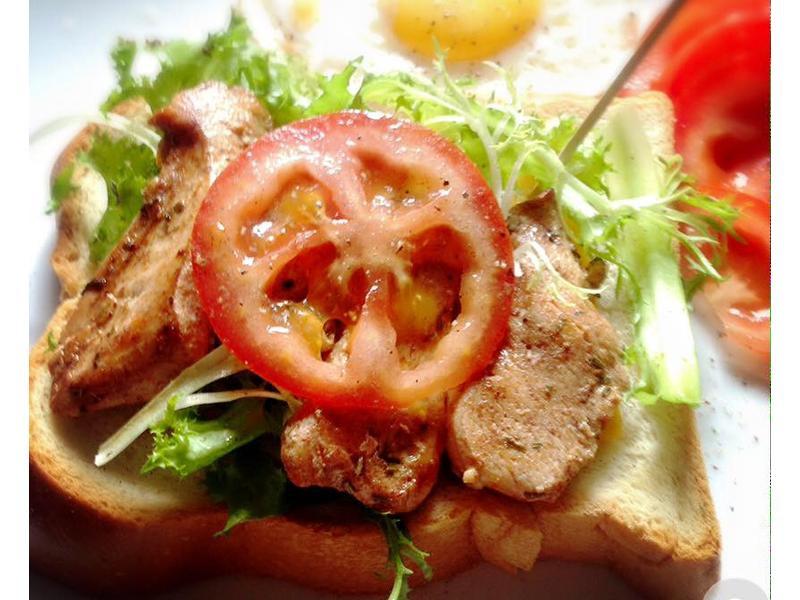 2人份早餐-匈牙利雞肉三明治