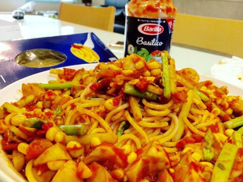 紅醬蔬食義大利麵【完美絕配義式饗宴】