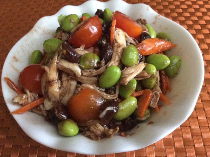 毛豆雞肉沙拉