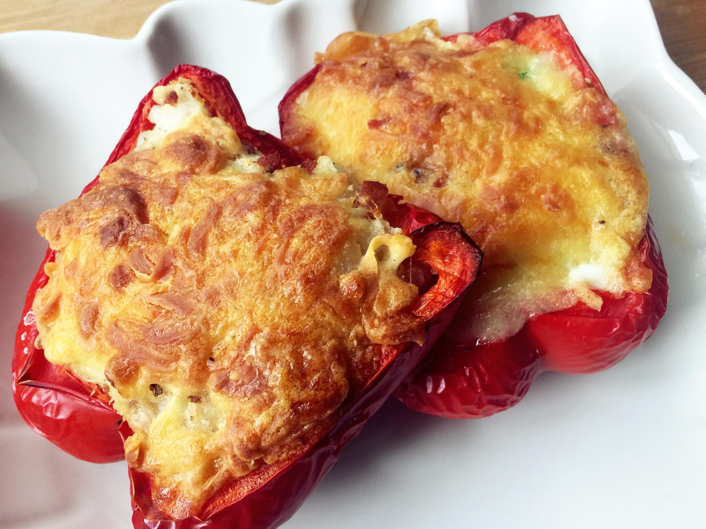 甜椒烤盅-雙味(雞蛋盅/馬鈴薯盅)