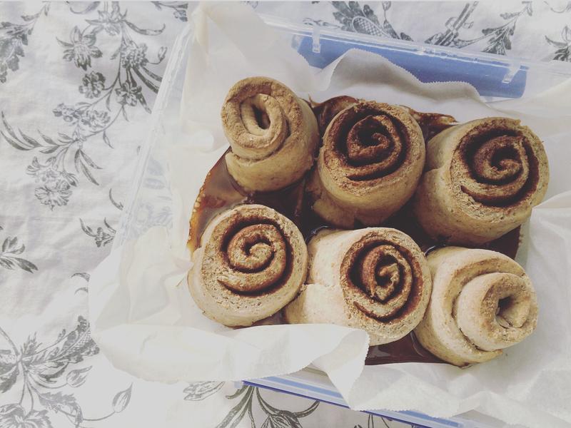 肉桂捲 cinnamon roll