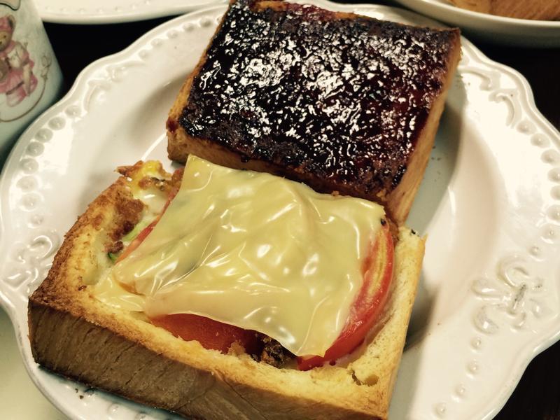 *焗烤吐司盒*免開火簡單營養又美味的早餐