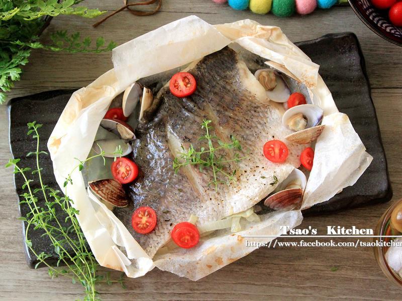 法式紙包魚