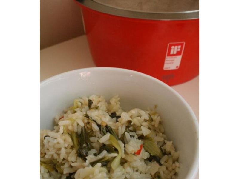簡單煮上海菜飯
