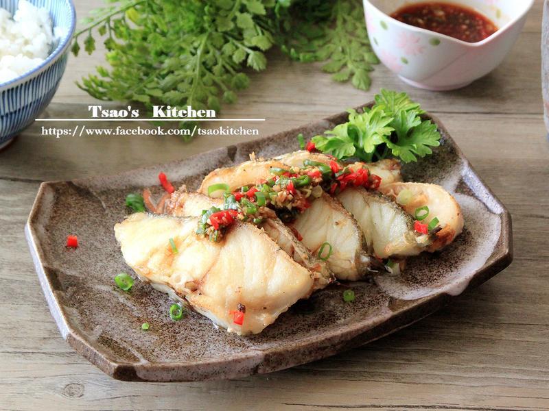 香煎石斑魚【全聯24節氣料理】