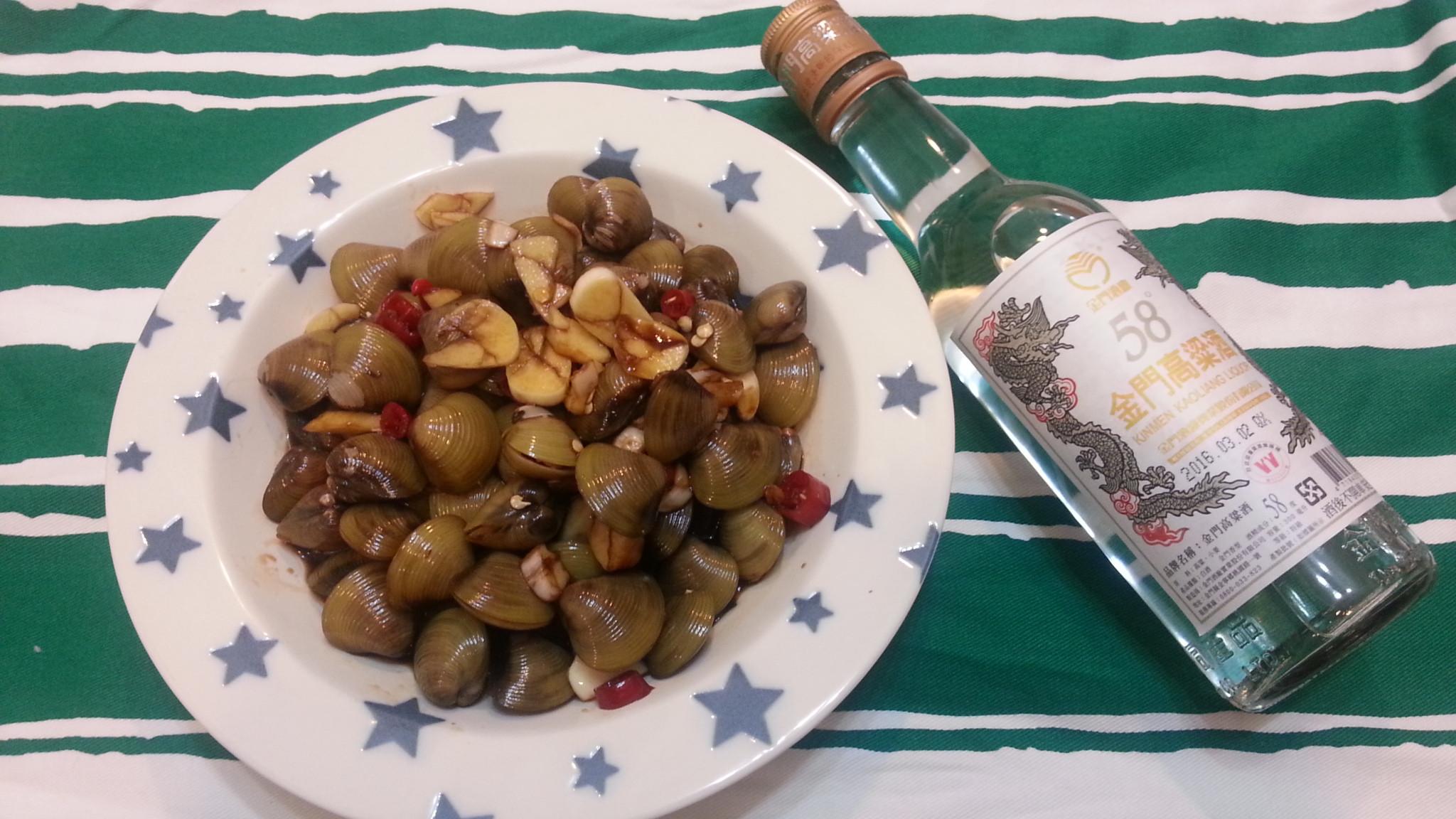 鹹蜆仔-58度金門高粱酒