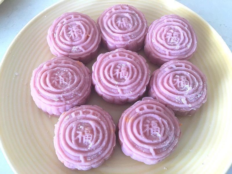 🍓草莓椰香冰皮月餅(超簡單容易)