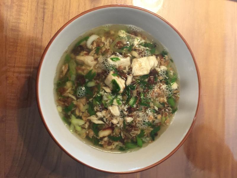 土魠魚湯泡飯