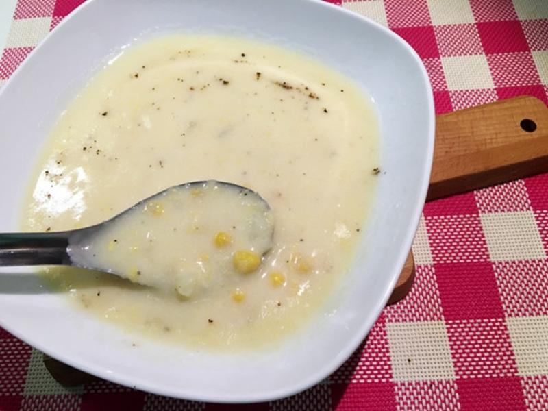 在家做出M玉米濃湯