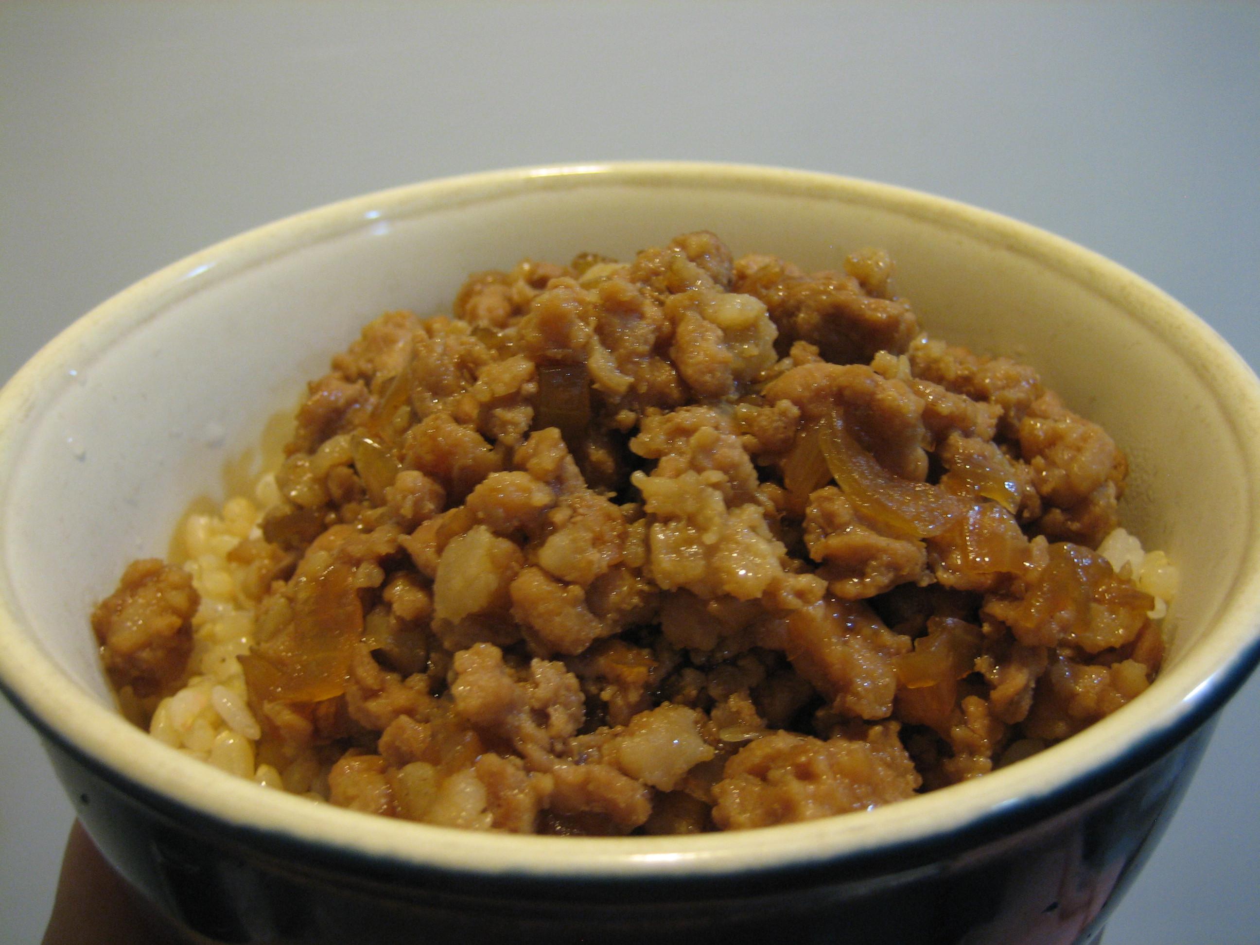肉燥 滷肉 洋蔥肉燥飯