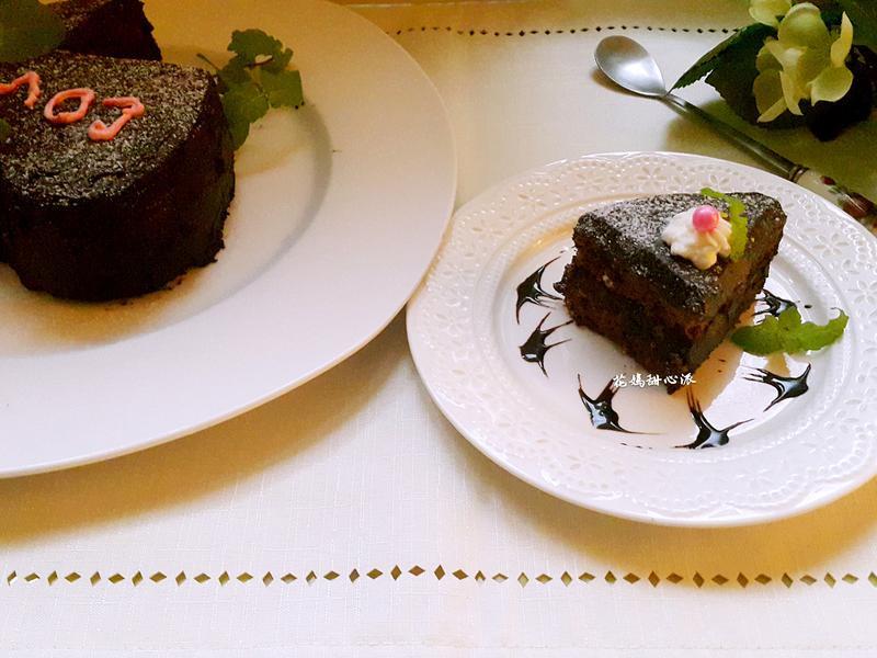 薄荷巧克力蛋糕