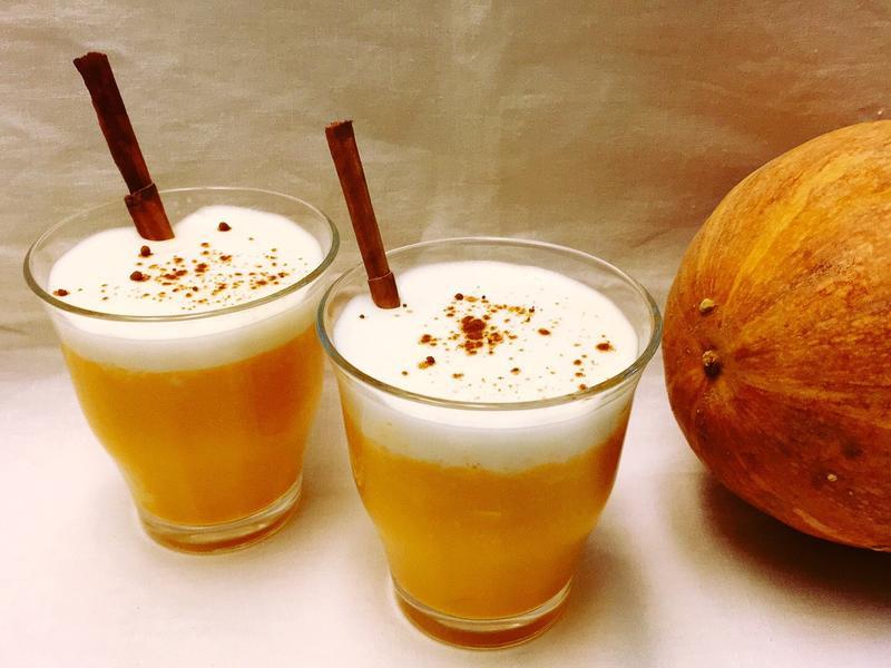 Pumpkin soup南瓜卡布奇諾濃湯