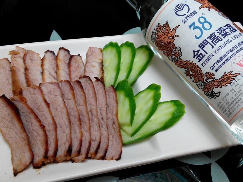 味噌松阪豬_38度金門高粱酒