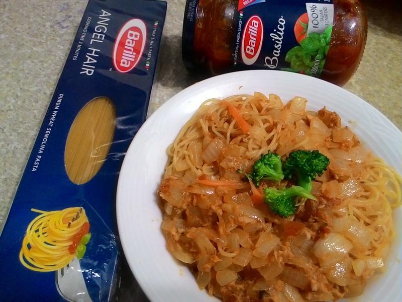 洋蔥鮪魚天使麵【完美絕配義式饗宴】