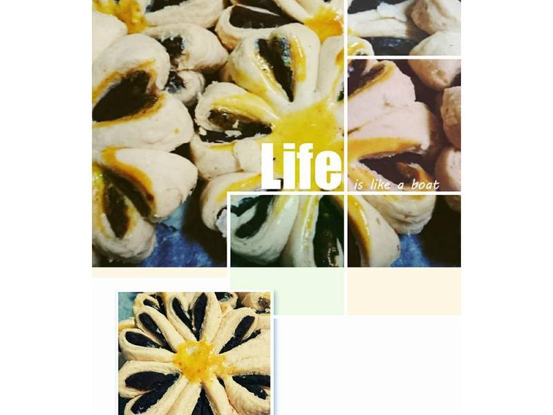 小花兒酥(水波爐料理)