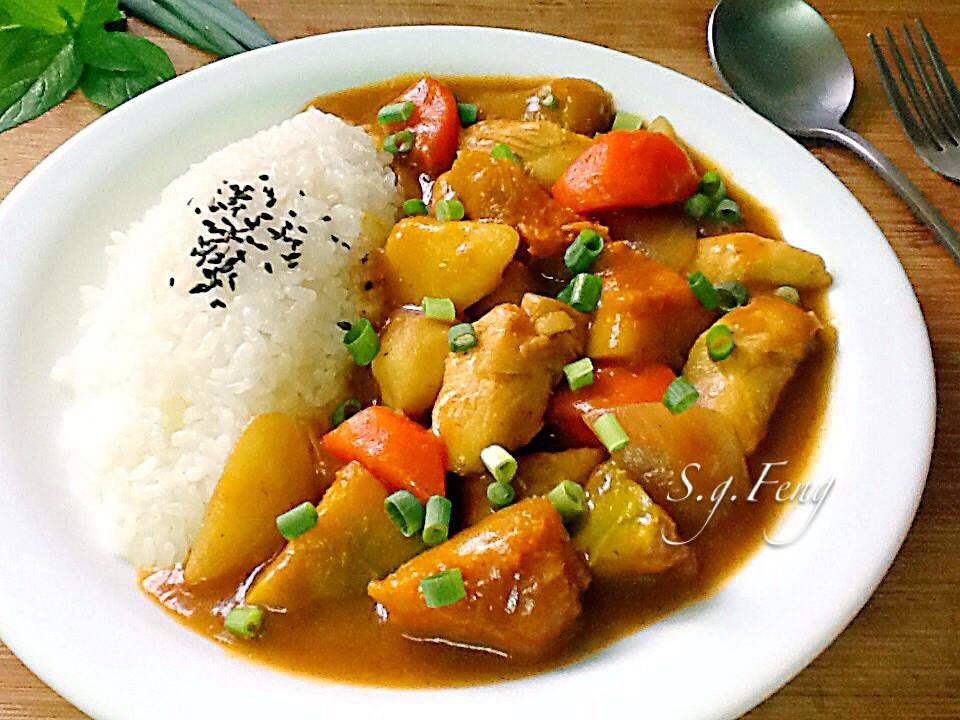 南瓜雞肉咖哩
