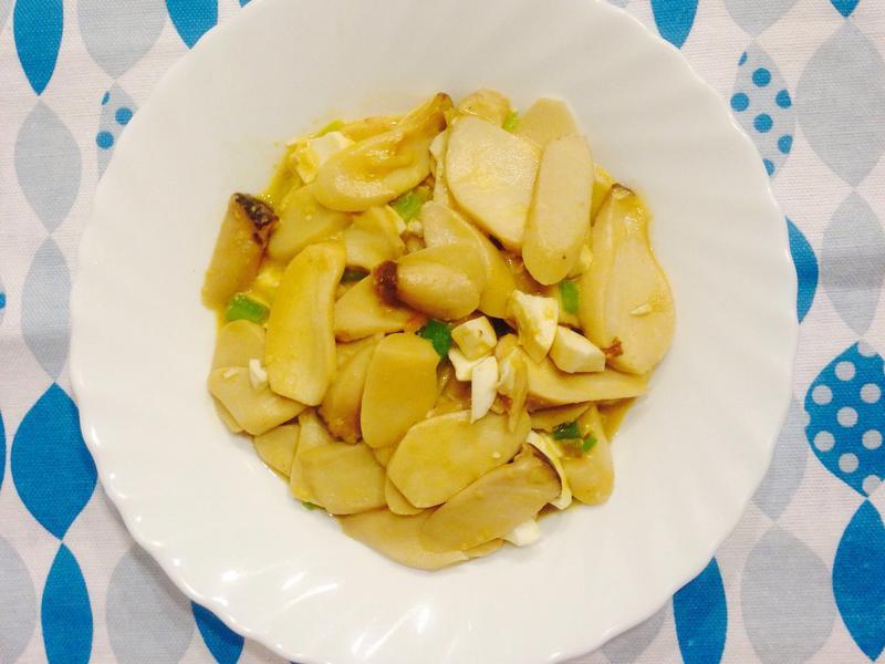 ㄧ吃就愛的熱炒—鹹蛋杏鮑菇