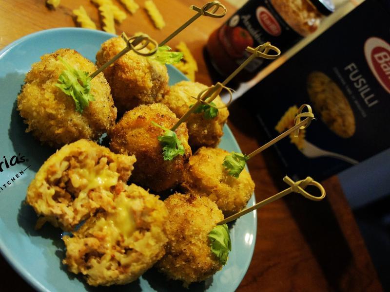 義大利麵起士炸肉圓(完美絕配義式饗宴)