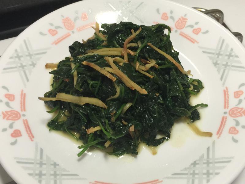 清炒枸杞葉
