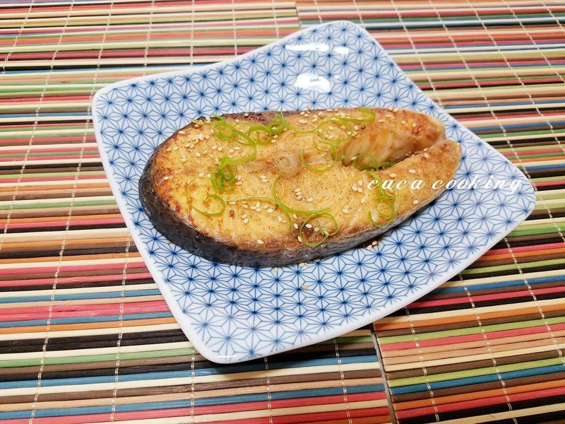 椒鹽烤鮭魚